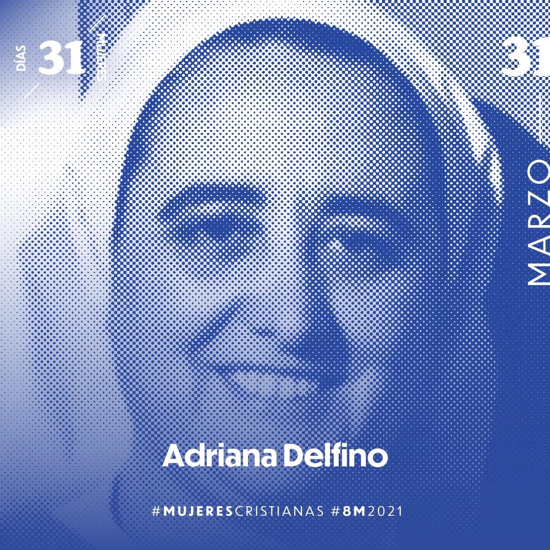 Iglesia Católica de Montevideo destaca a Hna. Ma. Adriana Delfino