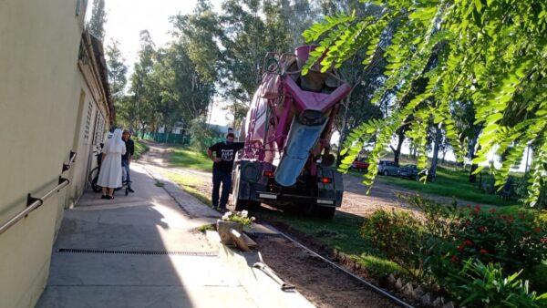 Avanzan las obras de remodelación en la comunidad de Bahía Blanca