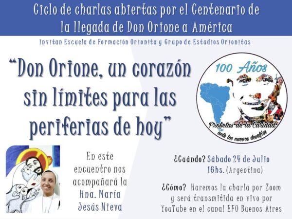 """""""Don Orione, un corazón sin límites para las periferias de hoy"""""""