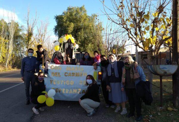 Misión de la Virgen 2021: Con María del Carmen testigos de esperanza