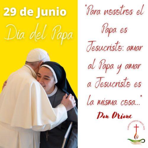 29 de junio: Día del Papa